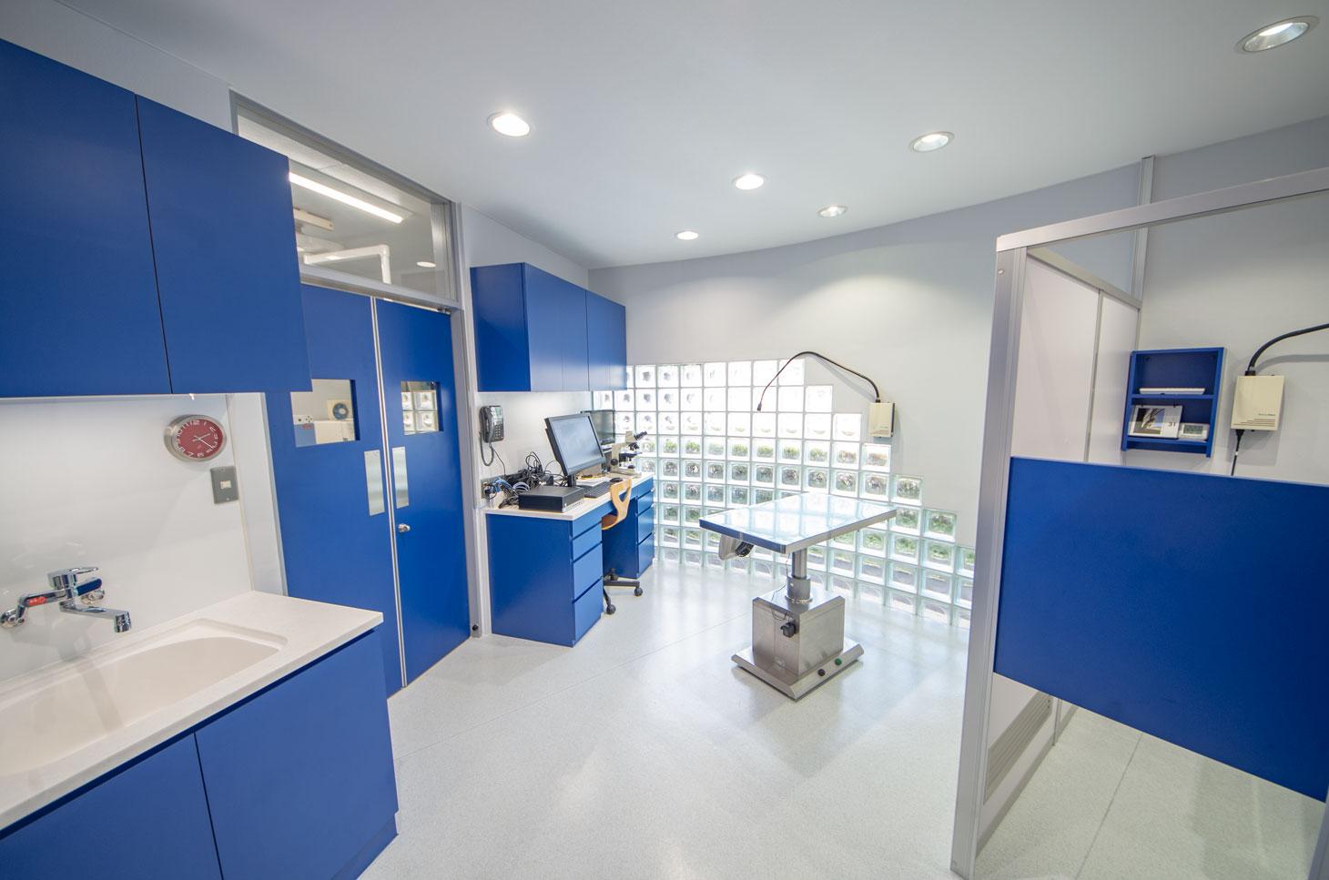 山之上動物病院の設備紹介:診察室