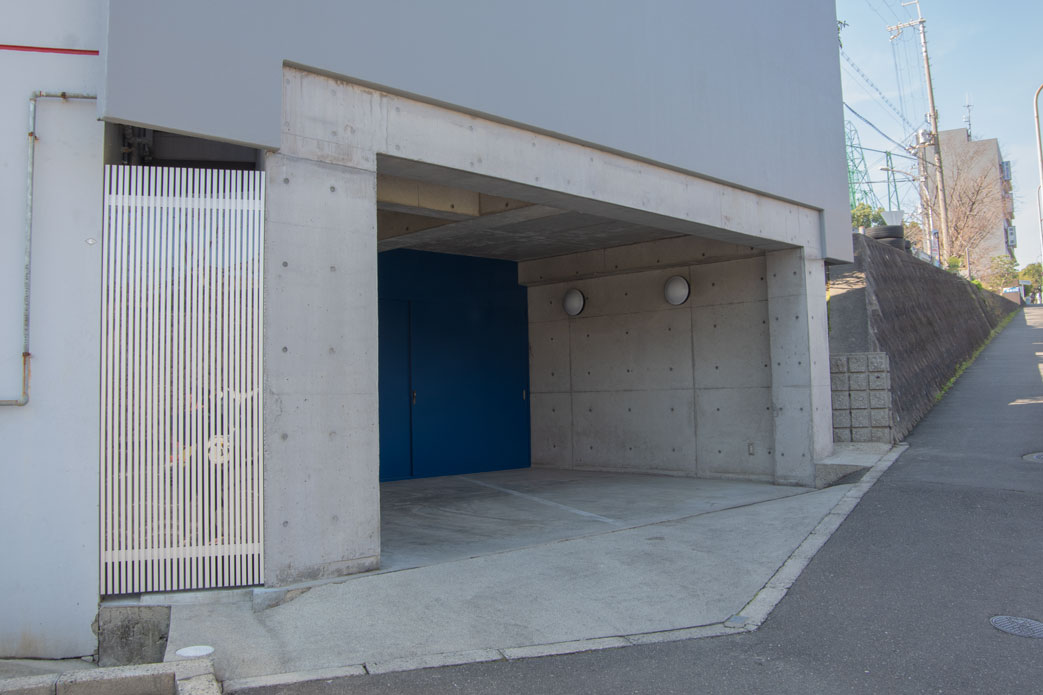 山之上動物病院 第2駐車場
